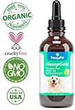 OmegaPet Hemp Oil for Dogs Anxiety Relief - Full Spectrum Hemp Drops for Cat Calming, Dog Stress and Pain Relief - 3rd Party Tested