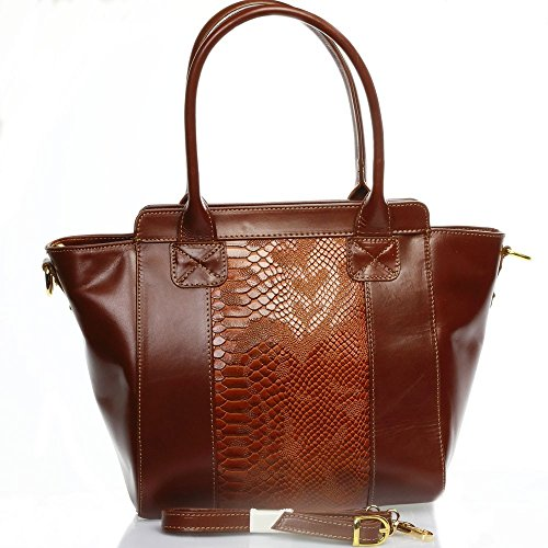 Mano Borsa Marrone A Olivia Cioccolato Donna N2900 qt5vp