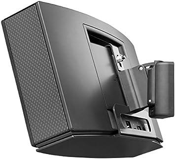 Cavus Wandhalterung Für Lautsprecher Für Bose Soundtouch 20 Schwenk Und Neigbar Cmst20b Single Schwarz Heimkino Tv Video