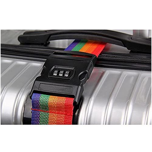 d55d3edfaa13 well-wreapped UrCool TSA Lock Travel Luggage Strap Suitcase Belt ...
