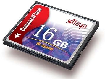 Amazon.com: Afaya Compact Flash tarjeta de memoria de 4 GB ...