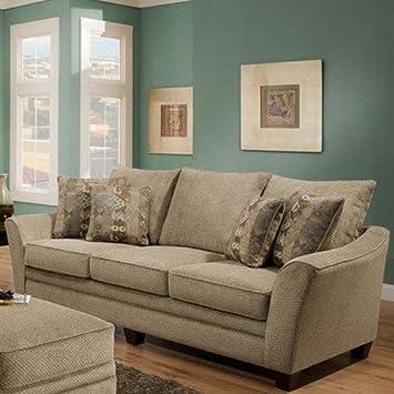 Amazon.com: Franklin Muebles 81140821325 Ashland (sofá ...