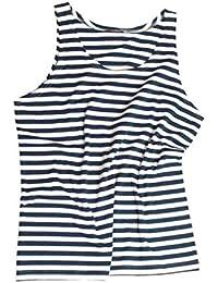Mil-Tec Blue/White Striped Sailor Tank Top
