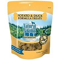 Balance Natural L.I.T. Golosinas para perros de ingredientes limitados, sin grano, fórmula de patata y pato, 28 onzas