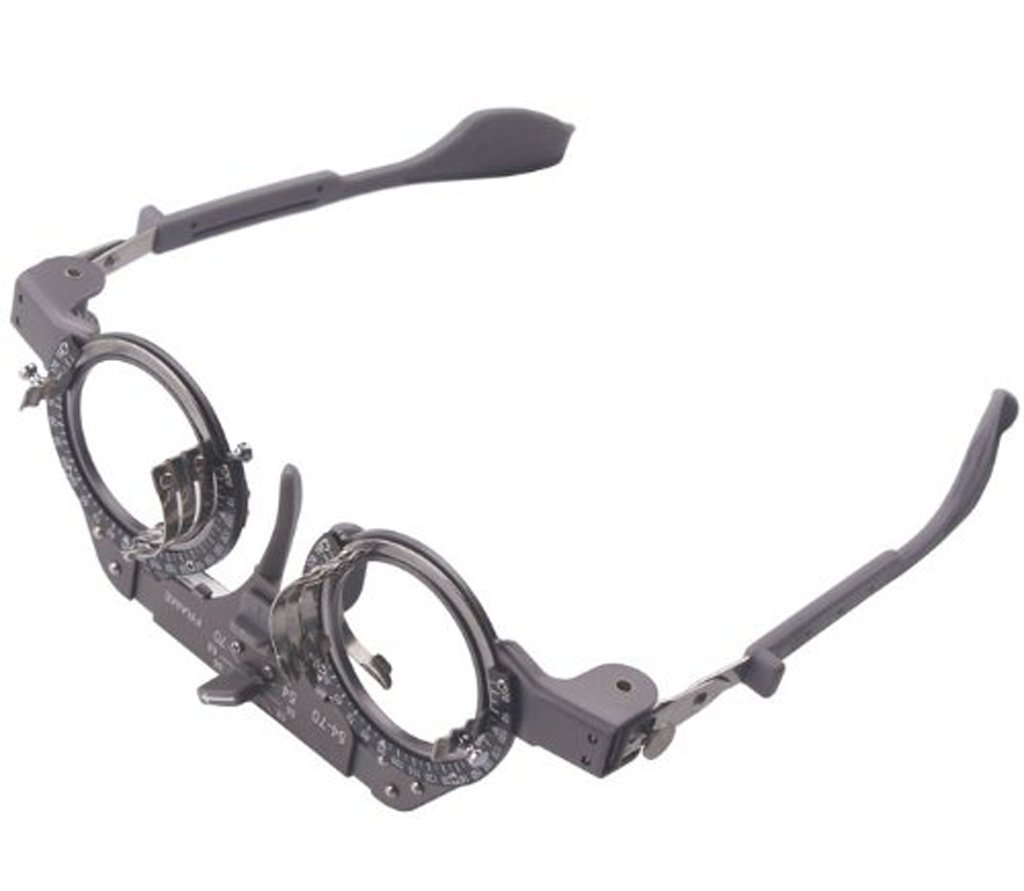 Adjustable Titanium Optical Eye Optometry Ophthalmic Trial Lens Frame