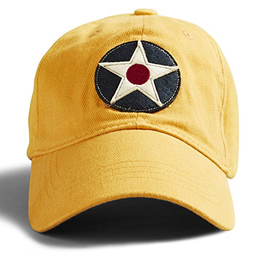 Mens Canoe (RED CANOE Mens Clothing Cap One Size Burnt Yellow)