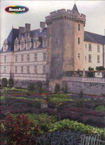(Rose Art Villandry Chateau, France 1,000 Piece Fully Interlocking Jigsaw Puzzle by Villandry Chateau, France)