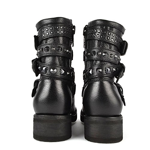 cost sale online amazing price cheap online Ash Footwear Tatoo Black Studded Biker Boot Black cheap sale footaction free shipping cheap quality wFbKjo