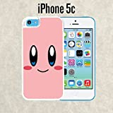 kirby phone case 5c - iPhone Case Cartoon Girl Cute Kirby LOL for iPhone 5c White 2 in 1 Heavy Duty (Ships from CA)