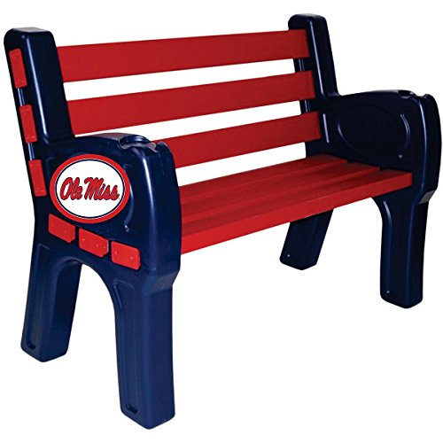 Imperial INTERNATIONAL OLE MISS REBELS PARK BENCH by Imperial