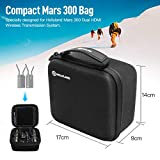 Hollyland Hard EVA Travel Carrying Case, Protective Multi-Functional Waterproof Storage Bag for Hollyland Mars 300 Dual Hdmi Wireless Video Transmission
