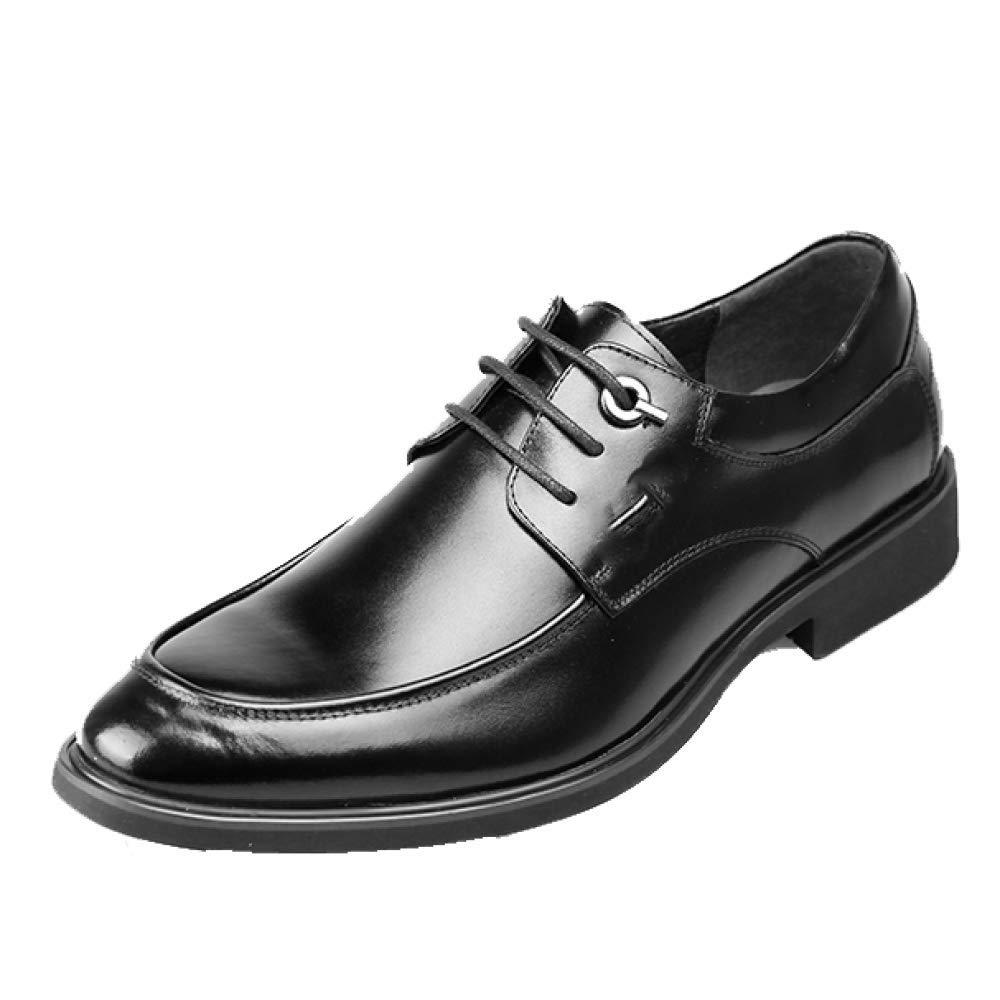 Männer, Business, Lederschuhe, Komfort, Gummi Atmungsaktiv, Spitze, Gummi Komfort, schwarz dd5bd8