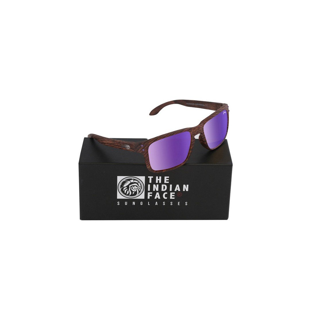 Gafas de Sol Unisex The Indian Face Freeride Spirit Marrón Madera