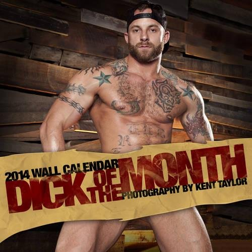 Raging Stallion Studios Dick of the Month 2014 Wall Calendar