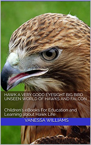 Hawk A Very Good Eyesight Big Bird Unseen world of Hawks and Falcon:  Children's eBooks For Education and Learning about Hawk Life (Fun Rhyming Children's Books Book 4)