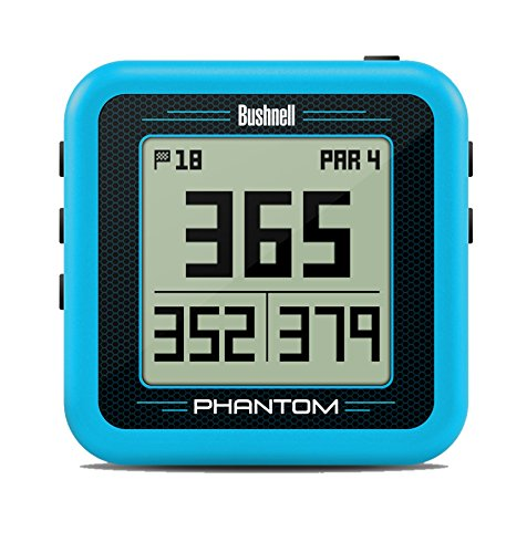 Bushnell Phantom Golf GPS, Blue/Gray