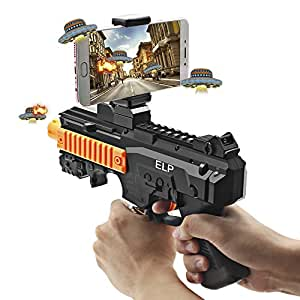 ELP AR Gun With Bluetooth For Toy Video Game Connecting IOS Android Smart Phone For Augmented Reality AR Bluetooth Game Controller