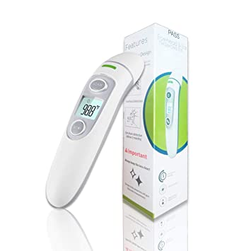 Amazon.com : Baby Thermometer Forehead Ear Thermometer - for Fever Upgrade Termometro Medical Infrared Clinical Accurate Infants Thermometer with 3 Fever ...