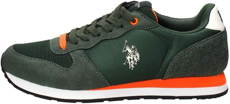U.s. polo assn. WILYS4087S9/HN1 Zapatos Hombre Green 40: Amazon.es ...
