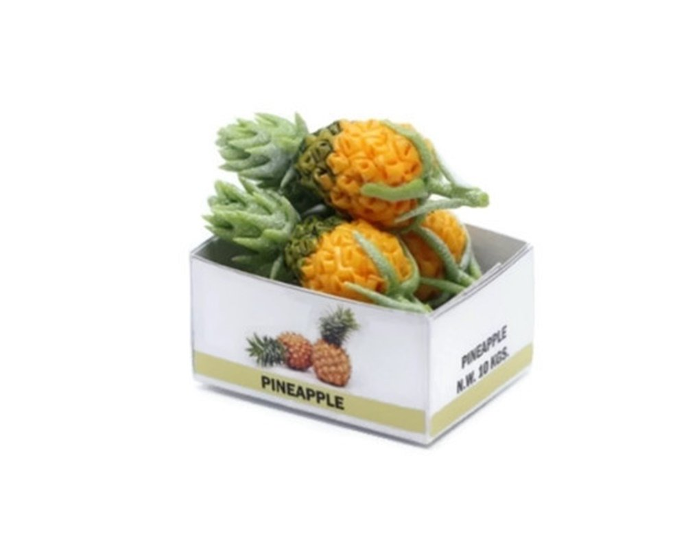 ChangThai Design Pineapple Fruit Handcraft Dollhouse Miniature Handmade Food Supply