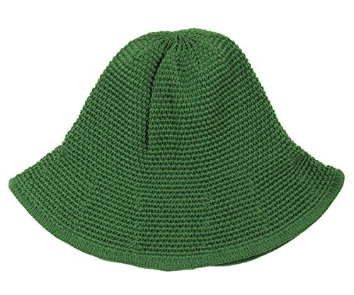 RW Knitted Crochet Fordable Hat With Flexible Wire Brim