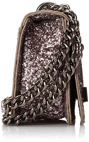 187 Aldo Seiling Cross Body Handbag Lilac Glitter One Size