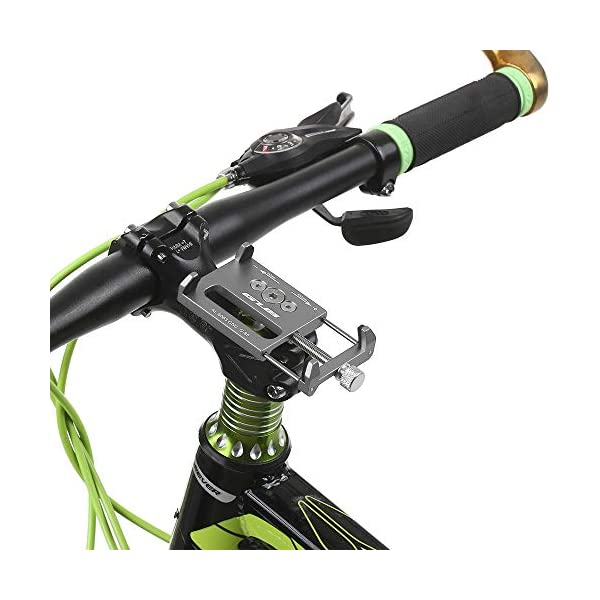 HOOMBOOM Porta Telefono Bici GUB Mountian Bici Telefono Montare Universale Regolabile Bicicletta Cellulare GPS Culla… 4 spesavip