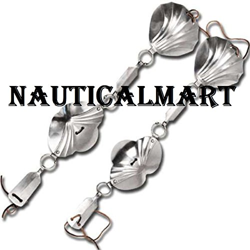 Medieval Jack Chain Armor Shoulder Elbow Steel Protector 18g by NAUTICALMART