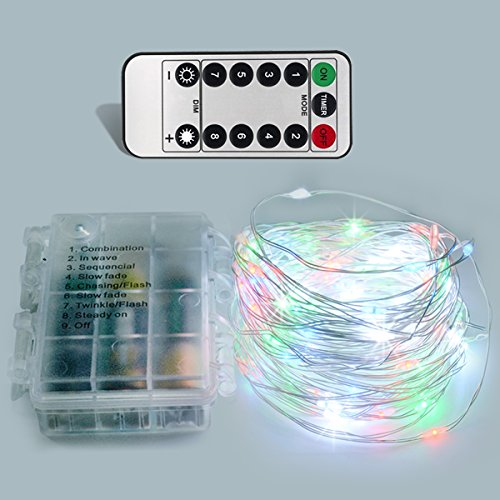 Multicolor rope lights with remote amazon mozeypictures Images