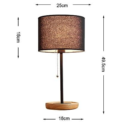 GBX Led Lámparas de Mesa de Hierro Forjado Retro Lámpara de ...