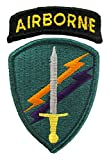 Civil Affairs Psychological Operations Dress Patch with Airborne Tab