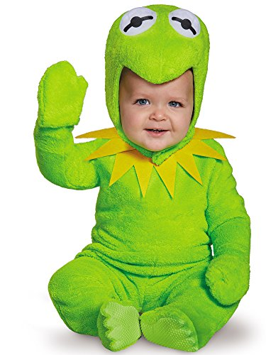Mens Deluxe Kermit Costumes - Kermit Toddler Costume, Medium