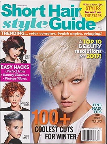 Short Hair Style Guide Magazine Winter 2016 Amazon Com Books