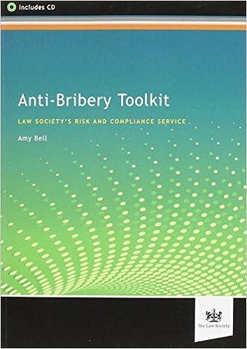 Amazon com: Anti-Bribery Toolkit (9781907698347): Amy Bell