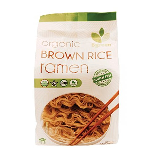 Big Green Organic Gluten Free Brown Rice Ramen, 9.8 Ounce (3 PK) Non GMO! USDA Organic!