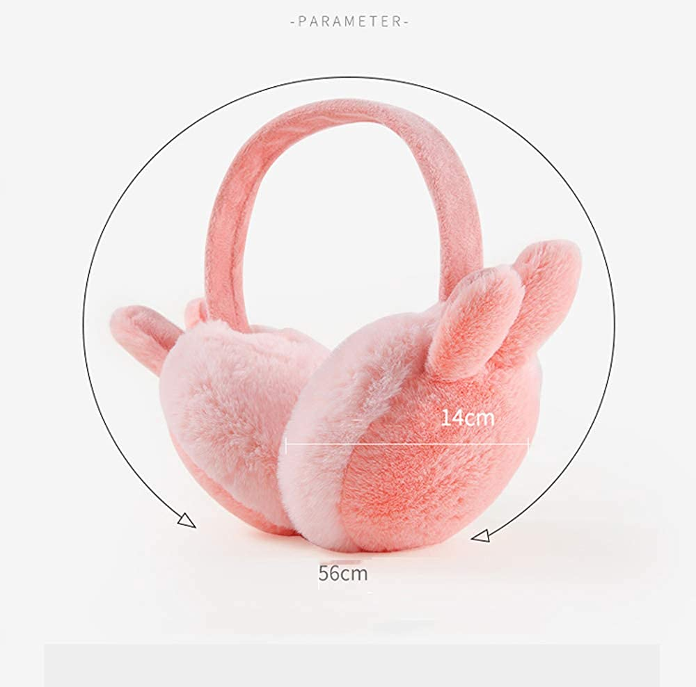 Nanxson Damen M/ädchen Ohrw/ärmer S/ü/ß Hasenohren Ohrensch/ützer Faltbar Ohr Muffel Earmuff EZ0018