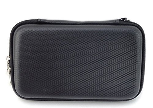 K2ger Hard Travel Carrying Case for Nintendo New 3DS, EVA Waterproof Hard Shield Protective Storage Games and Accessories(Black) ()