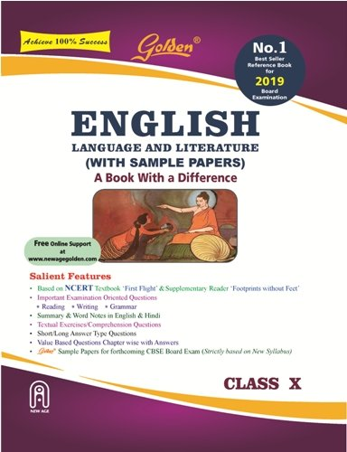 Download Golden - English Language and Literature with Sample Papers Class-X Term-1 & 2 PDF