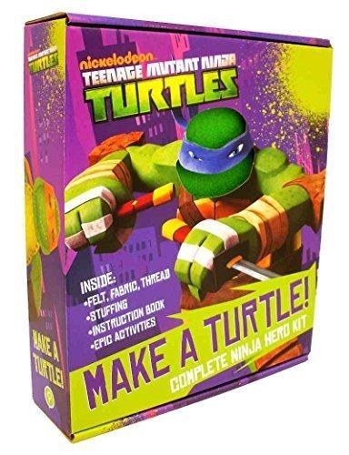 Tmnt Teenage Mutant Ninja Turtles 11 Piece Make A Turtle Kit