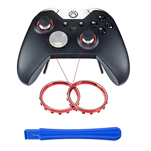 eXtremeRate Custom Design Chrome Thumbstick Controller
