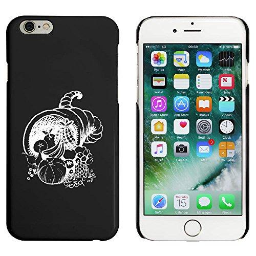 Schwarz 'Füllhorn' Hülle für iPhone 6 u. 6s (MC00025129)