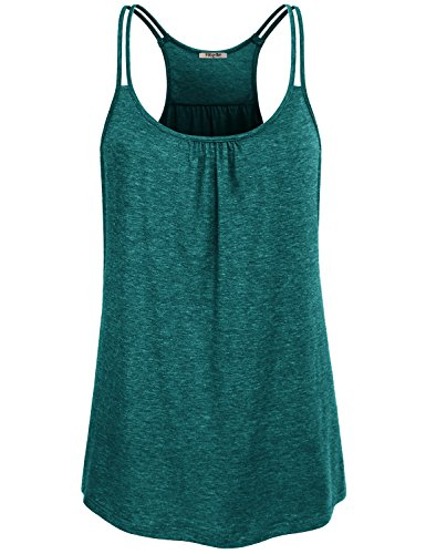 e32886f2187aed Hibelle Womens Athletic Tank Tops