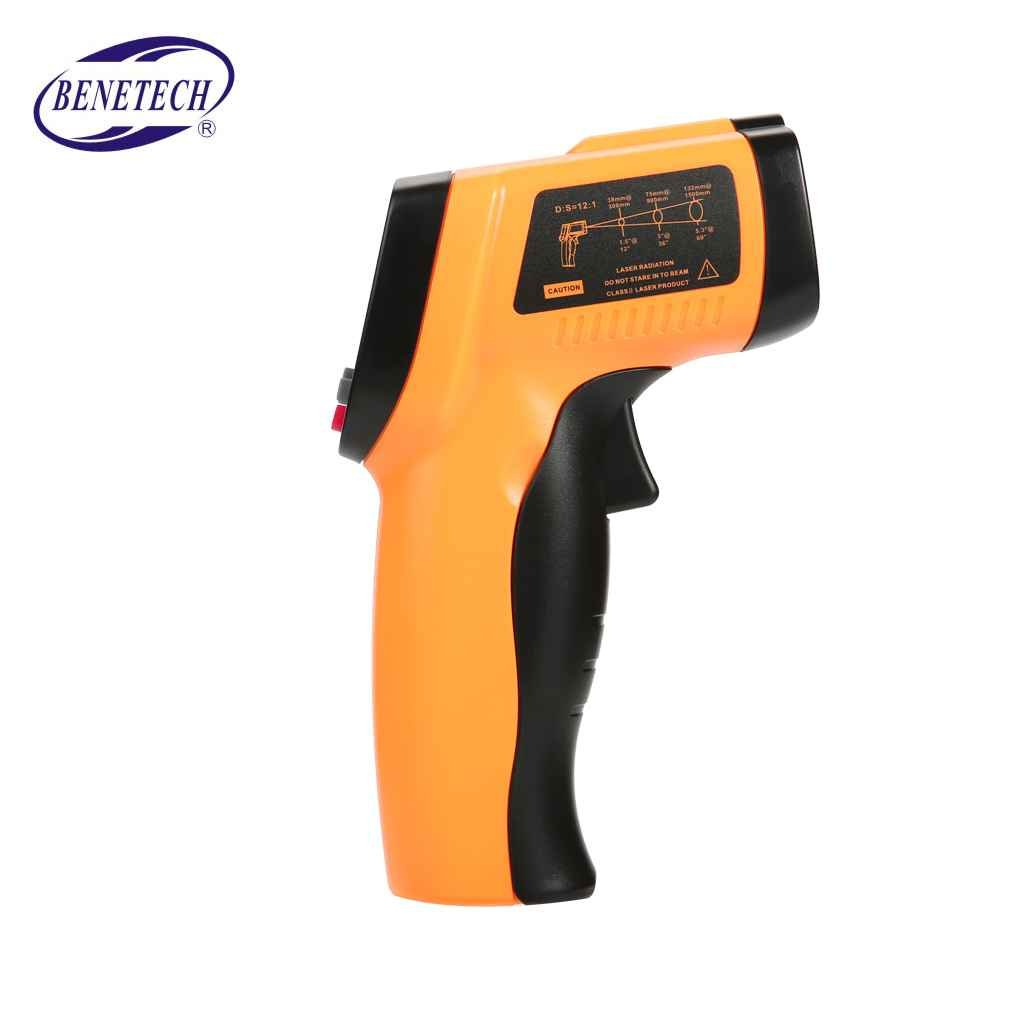 BENETECH GM550E Digital Non-contact IR Infrared Thermometer Temperature Meter -50~550℃ Adjustable 0.95 Pyrometer xuanL