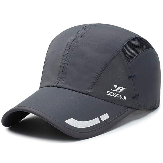 Nueva impresión Gorra de Secado rápido Tapa Exterior Sombrero para ...