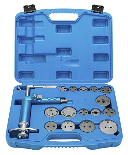 Air Disc Brakes - 8milelake 16pcs Pneumatic Disc Brake Caliper Piston Air Brake Caliper Piston Compressor Master Tool Kit