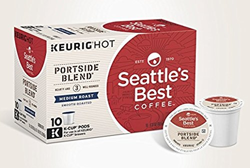 (2 Pack) Seattle's Best Coffee, Signature Blend No. 3, Keurig Brewed, Box of 10 K-Cup Packs Each