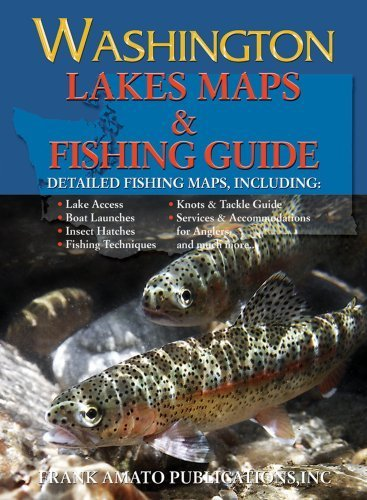 Washington Lake Maps & Fishing Guide by Bill McMillan(June 15, 2012) Paperback