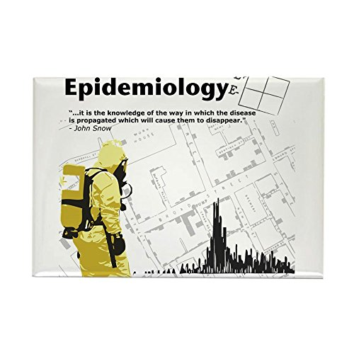 CafePress Epidemiology Inspirational Quote Rectangle Magnet, 2