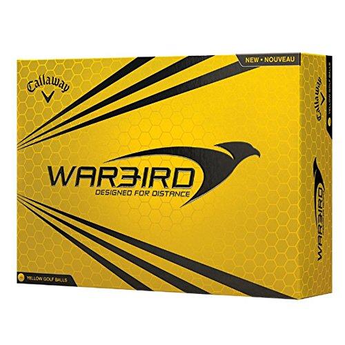 Callaway 2015 Warbird Golf Balls, Yellow