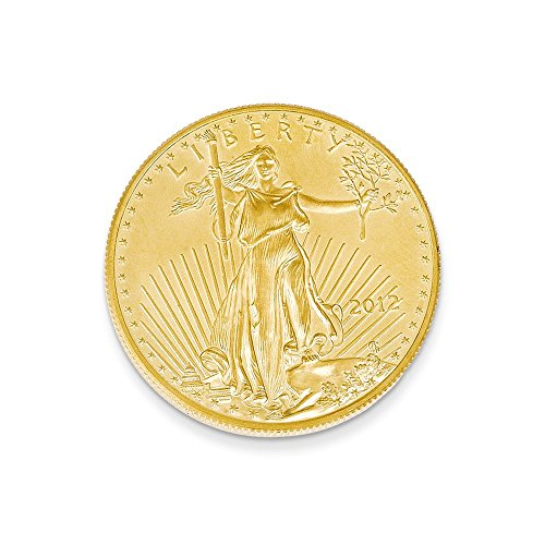 22K Yellow Gold 0.5 oz American Eagle Coin Pendant